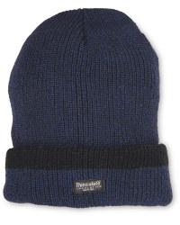 Men's Workwear Knitted Twist Hat - Navy
