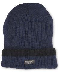 Men's Workwear Knitted Twist Hat - Navy