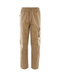 "Men's Workwear Trousers 31"" - Stone"