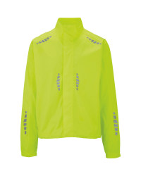 Men's Yellow Cycling Rain Jacket