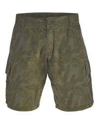 Avenue Men's Olive Cargo Shorts