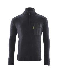 Mens 1/4 Zip  Workwear Pullover - Black