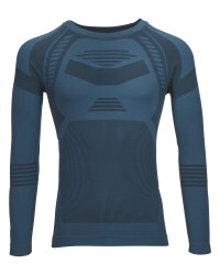 Crane Men's Blue Base Layer Top