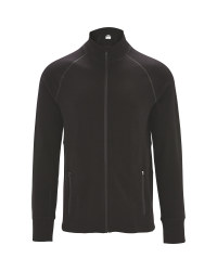 Men's Black Merino Sports Midlayer