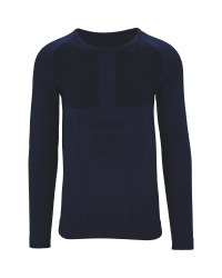 Men's Blue Base Layer Shirt