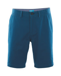 Mens Blue Chino Shorts