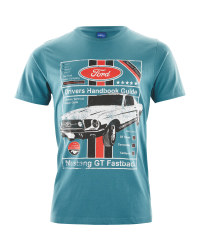 Ford Mens Blue T-Shirt
