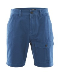 Avenue Mens Cargo Shorts  - Navy