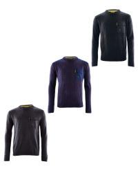 Mens Crew Neck Workwear Pullover