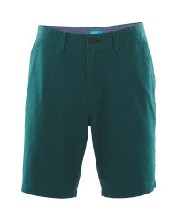 Mens Green Chino Shorts