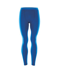 Mens Merino Thermal Long Johns - Blue