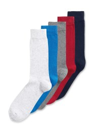 Mens Multi Socks 5 Pack