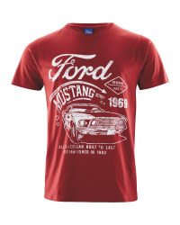 Mens Red Ford T-Shirt