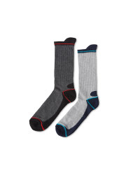 Workwear Socks 2 Pack - Teal/Red