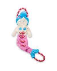 Mermaid Rope Dog Toy