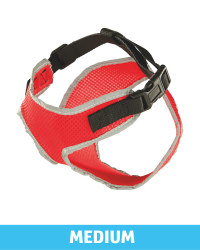 Pet Collection Mesh Pet Harness - Red