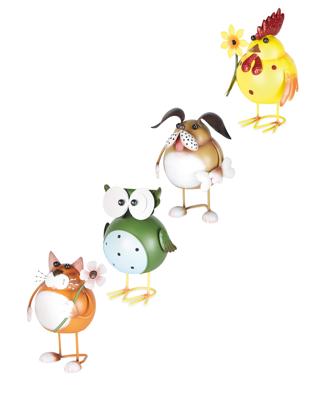 Metal Farm Animal Garden Ornaments