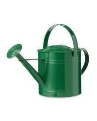 Gardenline Metal Round Watering Can - Green
