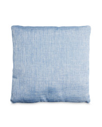 Metallic Blue Vintage Cushion