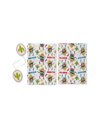 Mexican Wrapping Paper & Tags