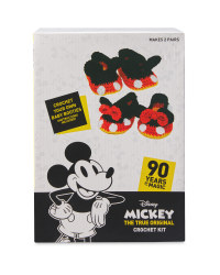 Mickey Booties Crochet Kit