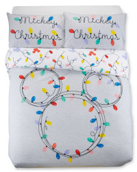 Mickey Lights Double Duvet Set