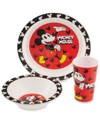 Mickey Mouse Character Breakfast Set