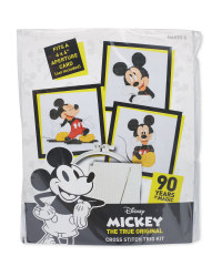 Mickey Smile Cross Stitch Kit