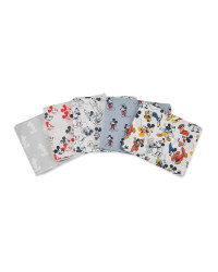 Mickey Mouse Fabric Quarters Grey