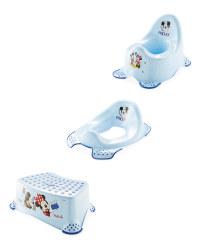 Mickey Mouse Toilet Set