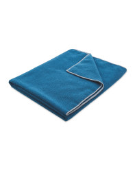 Adventuridge Camping Towel - Blue/Grey