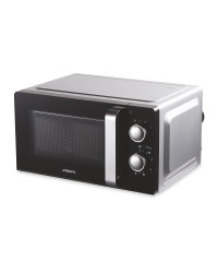 Ambiano Silver 700W Microwave Oven