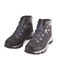 Mid Grey Trekking Boots