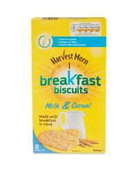 Milk & Cereal Breakfast Biscuits