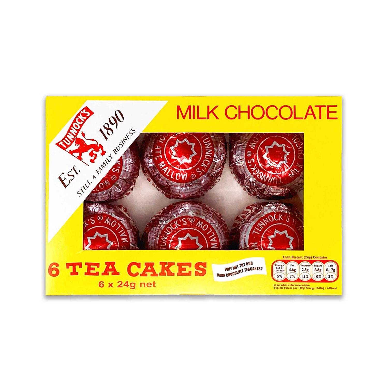 Milk Chocolate Tea Cakes