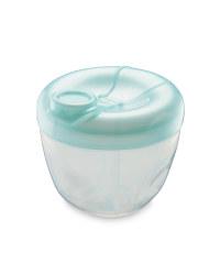 Milk Powder Dispenser - Aqua