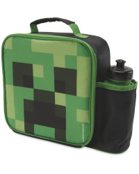 Minecraft Lunchbag & Bottle Set