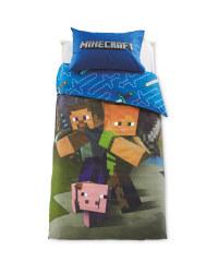 Minecraft Single Duvet Set