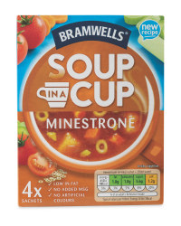 Minestrone Soup in a Cup