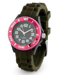 Mini Colour Watch - Olive