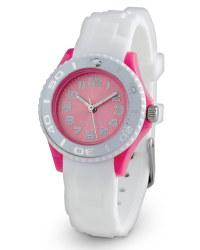 Mini Colour Watch - White/Pink