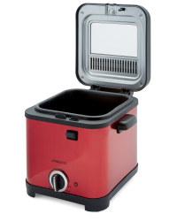 Mini Deep Fat Fryer - Red