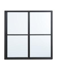 Kirkton House Mini Grid Mirror - Black