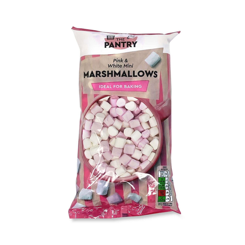 Pink & White Mini Marshmallows