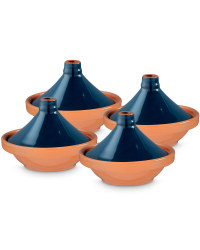 Mini Tagine (4 Pack) - Dark Blue