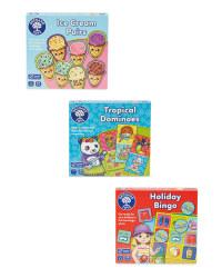 Mini Travel Games Set
