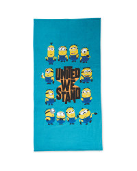 Minions Group Licensed Beach Towel