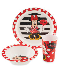 Minnie Mouse Character Breakfast Set