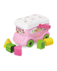 Minnie Mouse Shape Sorting Bus
