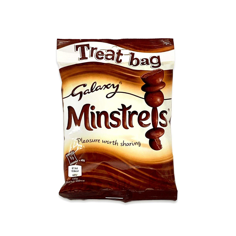 Galaxy Minstrels Chocolate Treat Bag